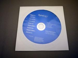 DiskStation 412+ 同梱物 各種プログラムなど