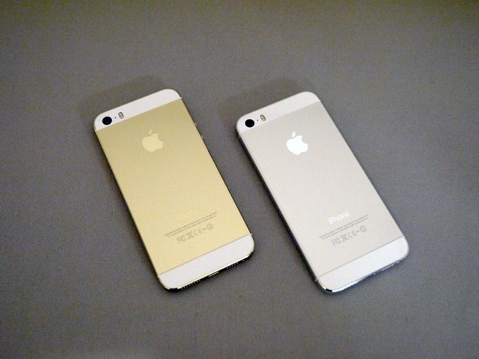 iPhone 5s 64GB ゴールド & iPhone 5s 64GB シルバーゲットしました! Xperia acro HD はサブ機へ…