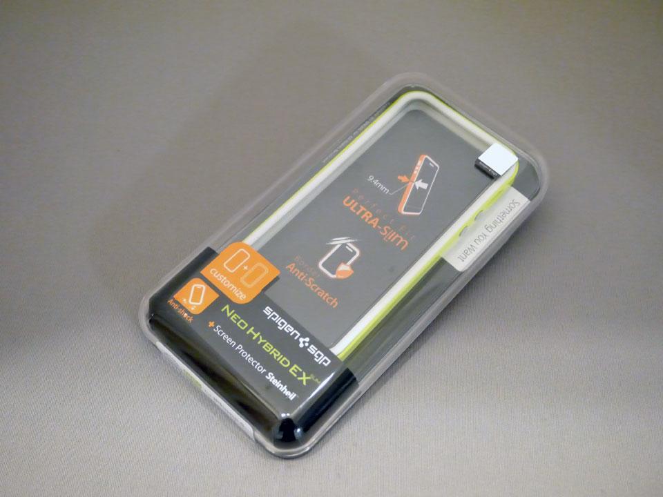 iPhone を落下事故から守るスタイリッシュなデザインケース 「ネオ・ハイブリッド EXスリム」 / SPIGEN SGP