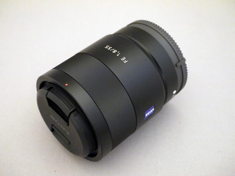 SONY Eマウント交換レンズ 『Sonnar T* FE 55mm F1.8 ZA SEL55F18Z』 開梱してみました!