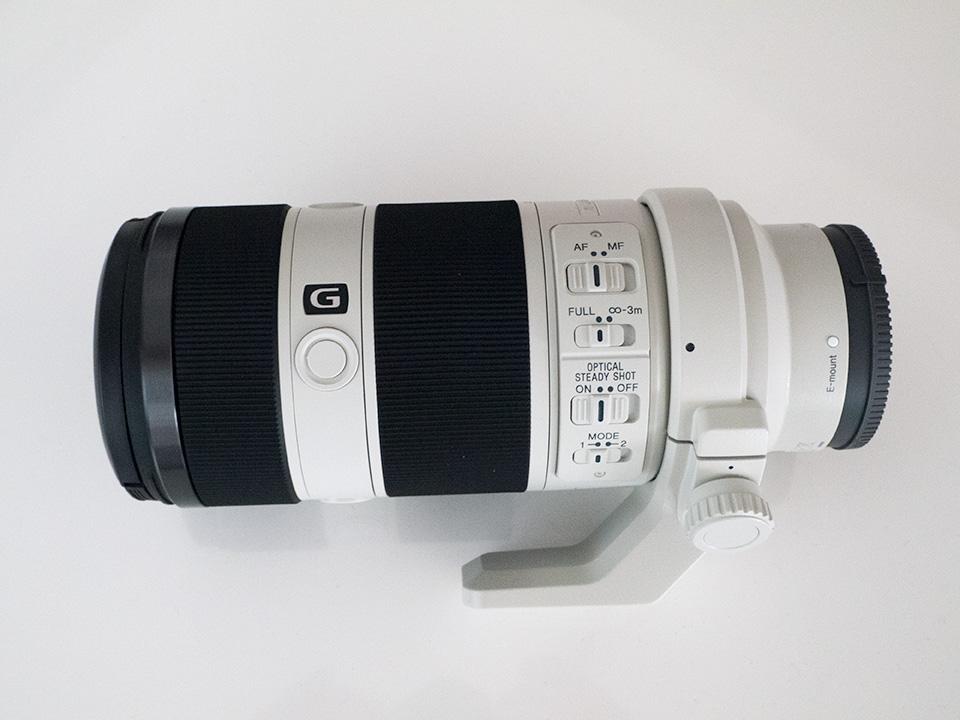 SONY Eマウント交換レンズ 『FE 70-200mm F4 G OSS SEL70200G』 開梱してみました!